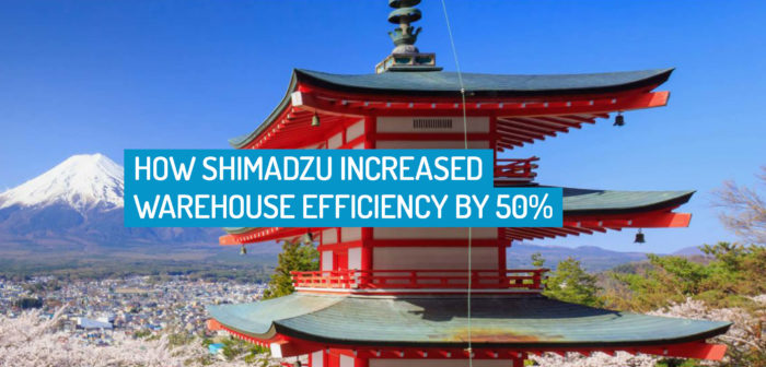 How Shimadzu Increased Warehouse Efficiency by 50%