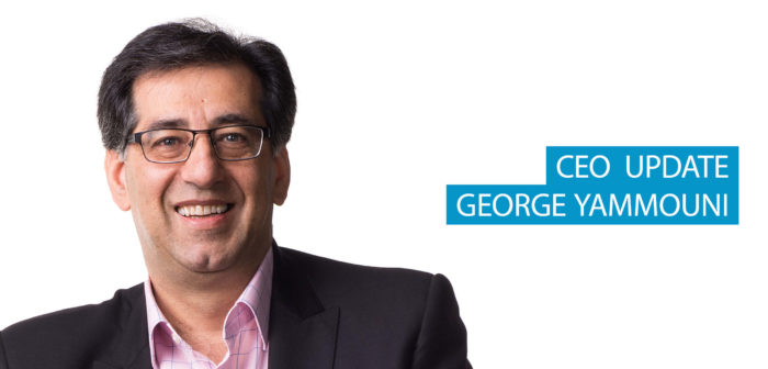 CEO Update: A Message from George Yammouni