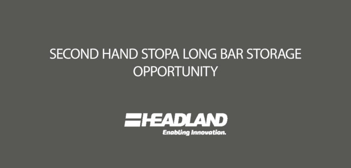 Second Hand Long Span Goods System – STOPA LG-B Opportunity