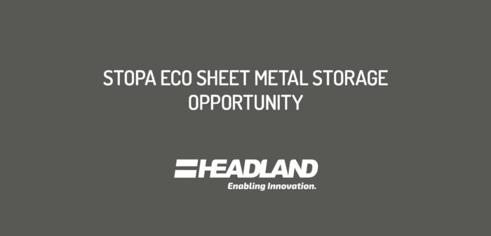 Second Hand STOPA ECO, Sheet Metal Storage Opportunity