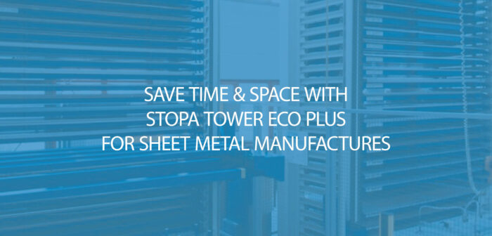 STOPA TOWER ECO Plus - Traditional racking vs STOPA Vertical Automated Storage