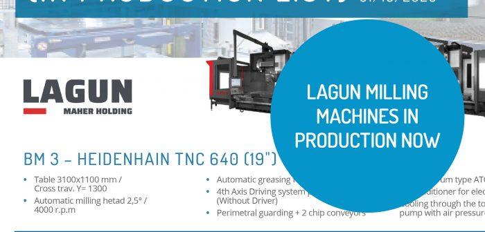 Lagun Milling Machines In Production as at October 2020