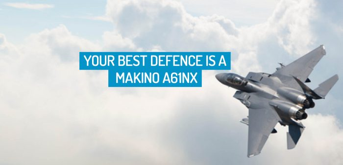 Your Best Defence is a Makino a61nx