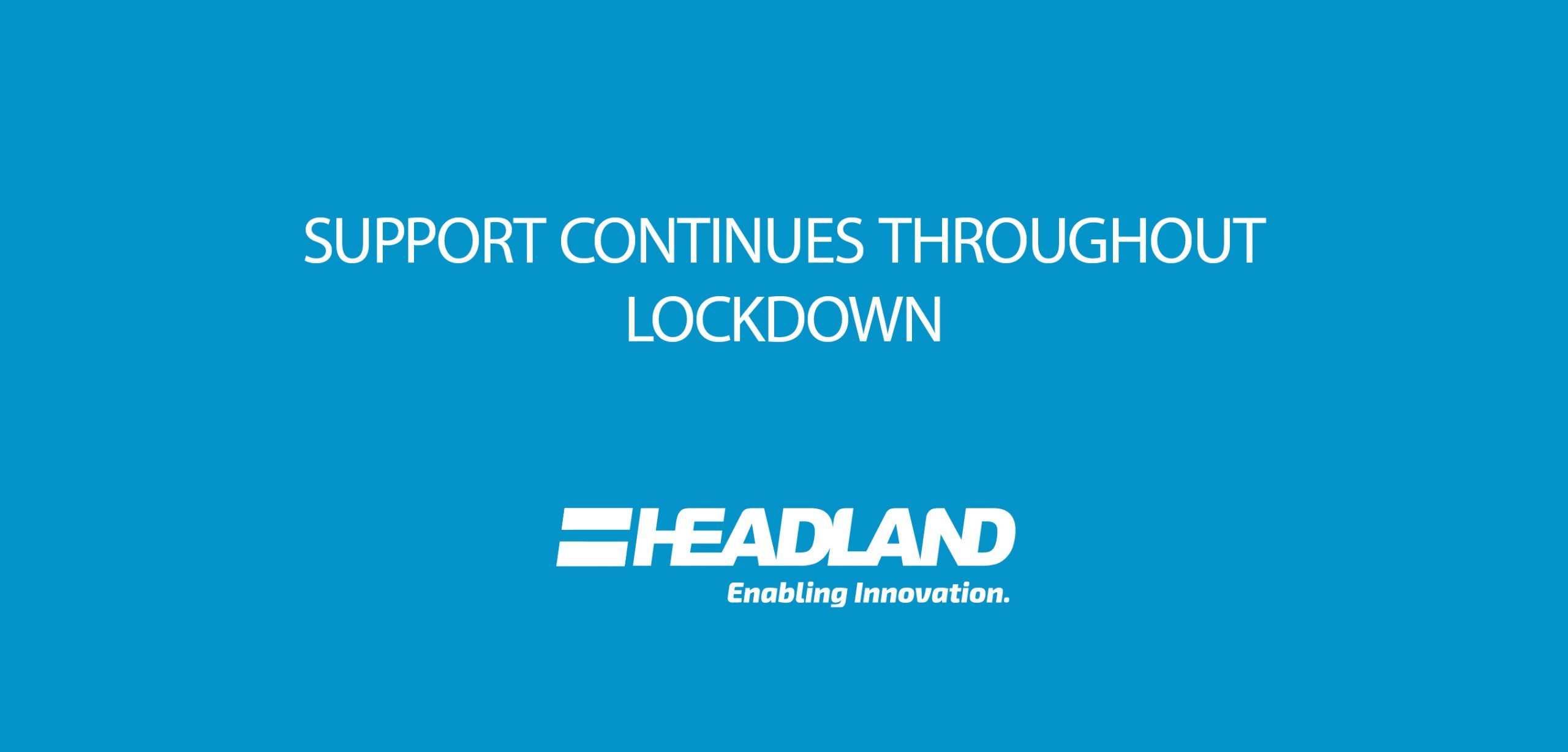 Lockdown support continues